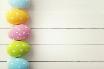 Easter greeting card background