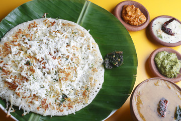 Paneer dosa – A pancake made with cottage cheese