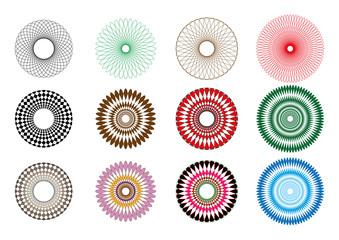 Spirograph spirals