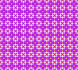 Texture, crosses, squares