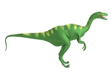 realistic 3d render of velociraptor