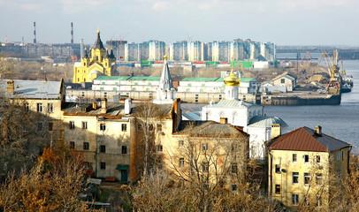 Port Strelka Nizhny Novgorod Russia