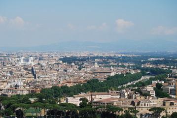 Roma San Pietro , vista dall cupolа