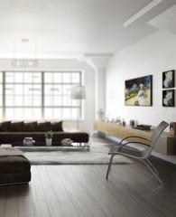 Inside a City Apartment (focus)