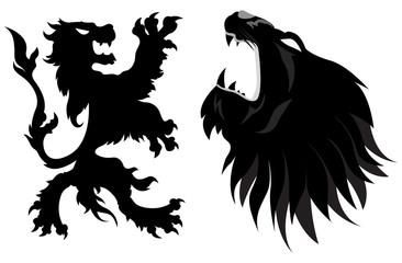Lions Heraldy