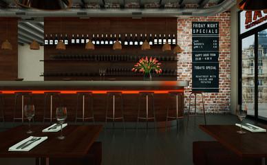 modernes Restaurant