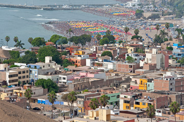 Lima, Peru. District of Chorrillos
