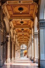 Bologna arcades. Italy