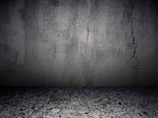 Grey Grunge Textured Room