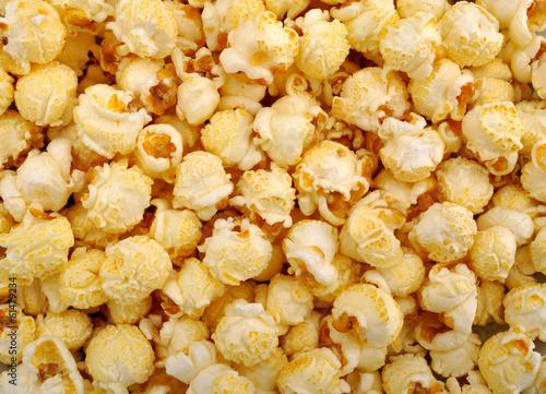 Fototapete Popcorn Kinoabend Snacks