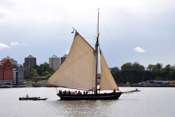 ship at sea in Stockholm, Sweden, Scandinavia, Europe