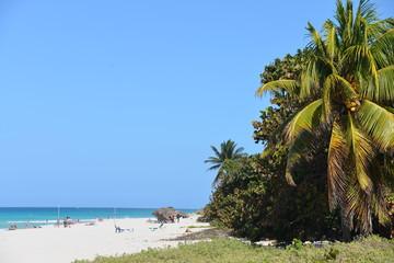 Beach in Varadero, Cuba