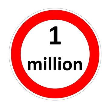 One million speed limit