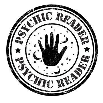 Psychic reader stamp