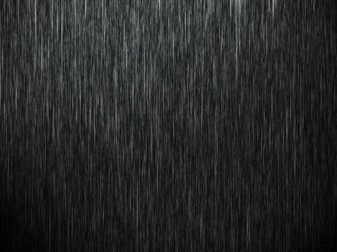 Rain on black. Abstract background