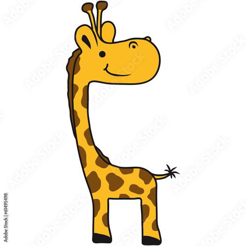 Quot Kleine S 252 223 E Niedliche Baby Kind Comic Giraffe Quot Stockfotos
