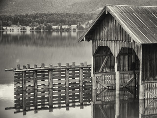 old boathouse