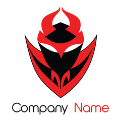 devil mask logo