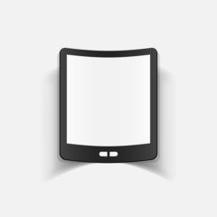 realistic design element: smartphone