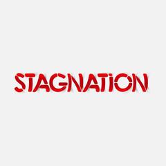 realistic design element: stagnation