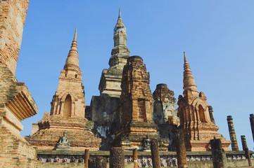 Pagoda in Sukothai Historical Park, Thailand