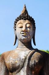 Buddhist Image in Sukothai Historical Park, Thailand