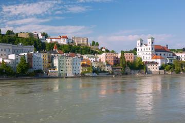 Fotomurales - Passau, Veste Oberhaus, St. Michael, Inn