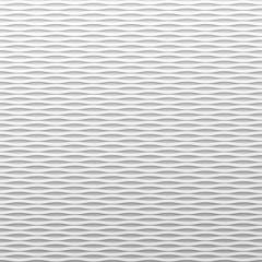 White wavy background
