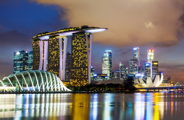 Canvas Prints Singapore Singapore skyline