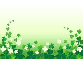 クローバー 聖パトリック  St.Patrick's Day Background