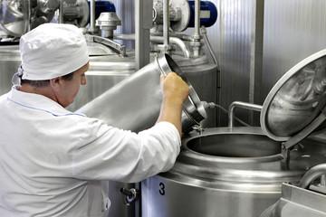 modern milk factory