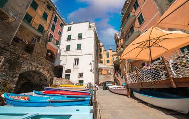 Quaint village of Cinque Terre