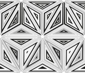 Seamless monochrome pattern 3