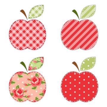 Fabric apples 3