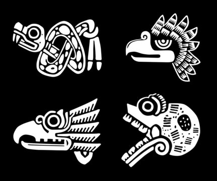 Indian symbols.Tribal design.Vector  EPS 8
