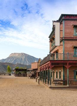 Mini Hollywood Western Town Almeria Andalusia Spain