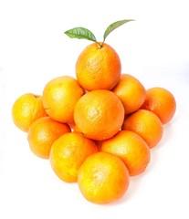 Pyramid of oranges