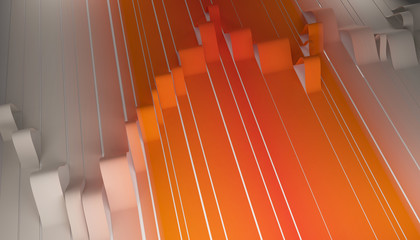 Fotobehang - line abstract