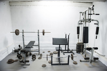amateur home gym
