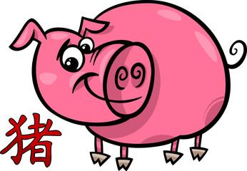 pig chinese zodiac horoscope sign