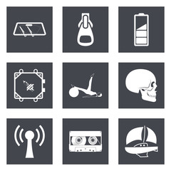 Icons for Web Design and Mobile Applications set 3