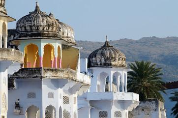 Keuken foto achterwand India Beautiful hindu architecture of Pushkar,Rajasthan,India