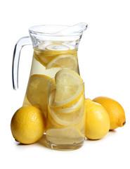 Lemons in glass