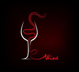 Wine Silhouette