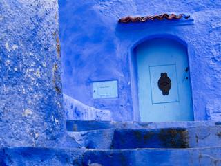 Porte bleue de Chefchaouen