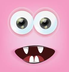 Мультфильм лицо от волнения