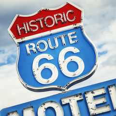 Papiers peints Route 66 Famous road