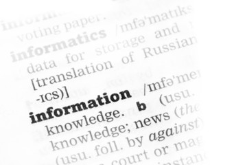 Information Dictionary Definition
