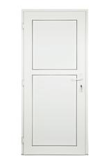 white door isolated