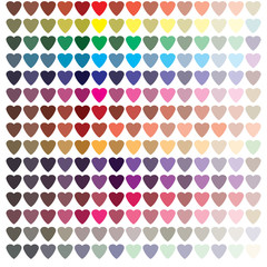 heart in color